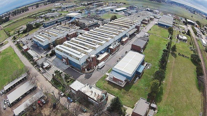 Vista de la fábrica de las ollas Essen uicada en Venado tuero
